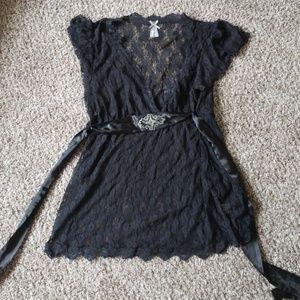 Vanity lace top
